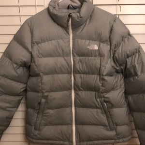 The North Face women's puffer snow jacket